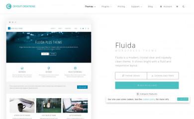 http://www.cryoutcreations.eu/wordpress-theme/fluida screenshot