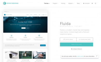 http://www.cryoutcreations.eu/wordpress-themes/fluida screenshot