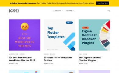 cssauthor.com screenshot