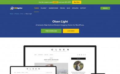 https://www.cssigniter.com/ignite/themes/olsen-light/ screenshot