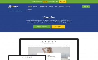 https://www.cssigniter.com/themes/olsen/ screenshot
