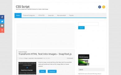 cssscript.com screenshot