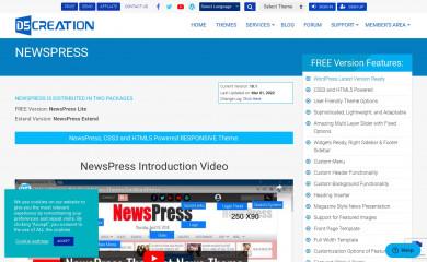 NewsPress Extend screenshot