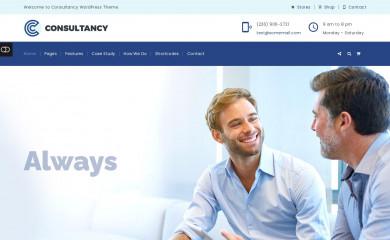 Consultancy screenshot