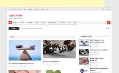 daddypad.com screenshot