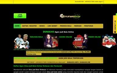 daftarjudibola.online screenshot