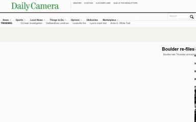 http://dailycamera.com screenshot