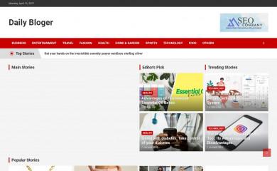 dailybloger.com screenshot