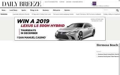 http://dailybreeze.com screenshot