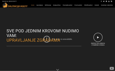dalmacija-agent.hr screenshot