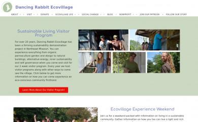 dancingrabbit.org screenshot