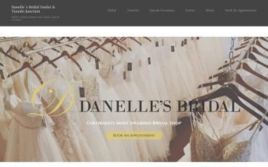 danellesboutique.com screenshot