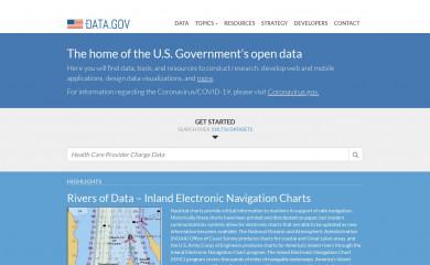 data.gov screenshot