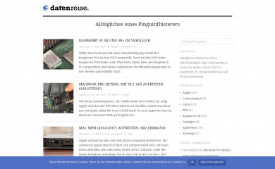 datenreise.de screenshot