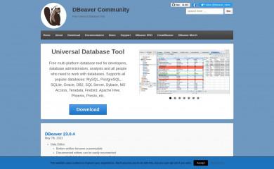 http://dbeaver.io screenshot