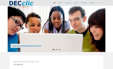 decclic.qc.ca screenshot