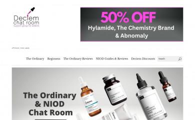 deciemchatroom.com screenshot