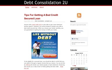 debt-consolidation-2u.com screenshot