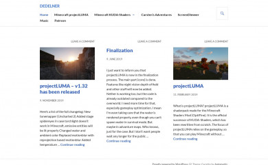 http://dedelner.net screenshot