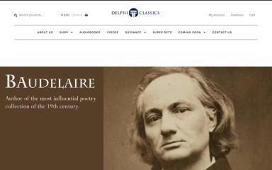 delphiclassics.com screenshot