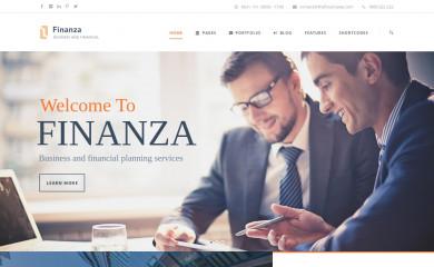 http://demo.goodlayers.com/finanza screenshot