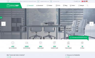 Safir Denge Wordpress Teması screenshot