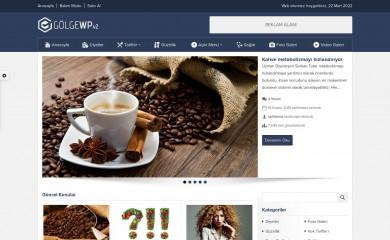 Gölge Wordpress Teması screenshot