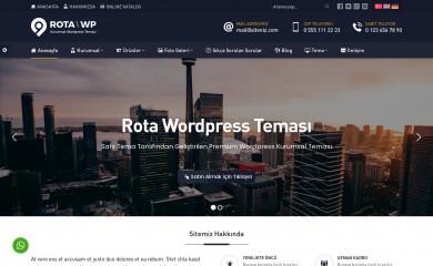 Safir Rota Wordpress Teması screenshot