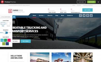CargoPress by ProteusThemes screenshot