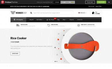 WoonderShop PT screenshot