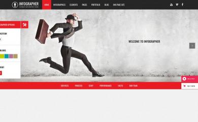 http://demo.qodeinteractive.com/infographer/ screenshot