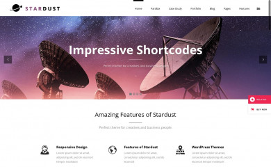 http://demo.qodeinteractive.com/stardust/ screenshot