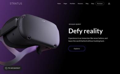 http://demo.themovation.com/stratus/ screenshot