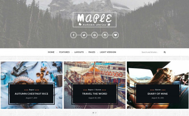 Maple screenshot