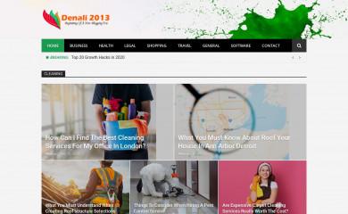 denali2013.org screenshot