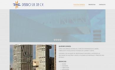 http://desero.mx screenshot