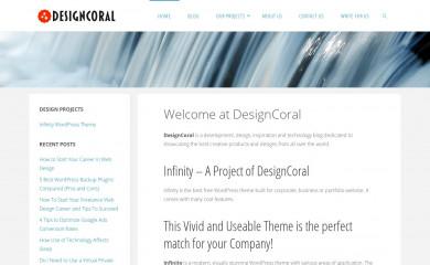 designcoral.com screenshot