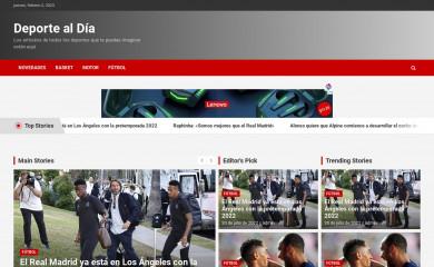 deportealdia.live screenshot