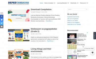 depedtambayan.org screenshot