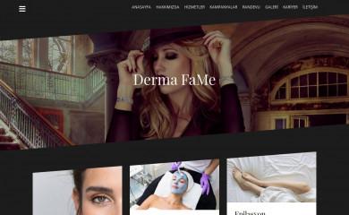dermafameclinics.com screenshot