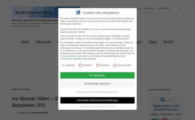 deutschlernerblog.de screenshot
