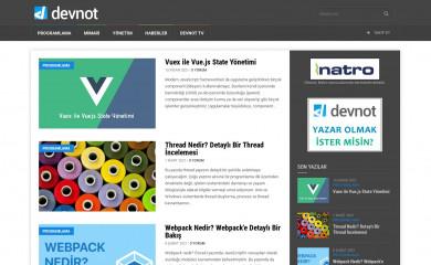 devnot.com screenshot