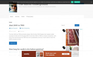 dfarq.homeip.net screenshot