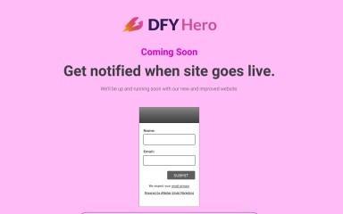 dfyhero.com screenshot