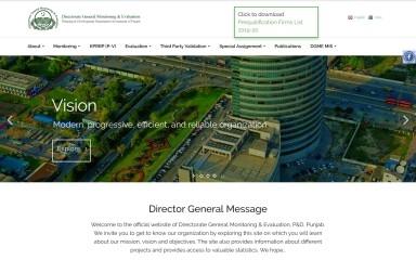 dgmepunjab.gov.pk screenshot