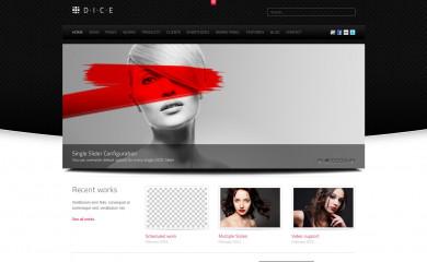 DICE WordPress Theme screenshot