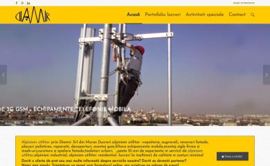 http://diamir.ro screenshot