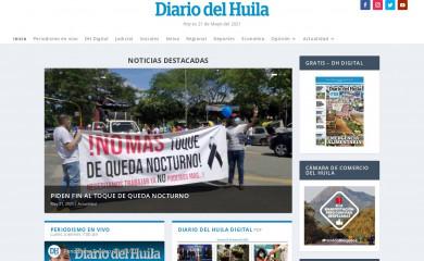 diariodelhuila.com screenshot