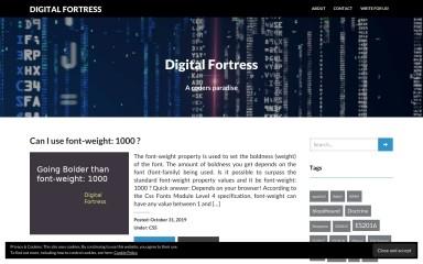 digitalfortress.tech screenshot