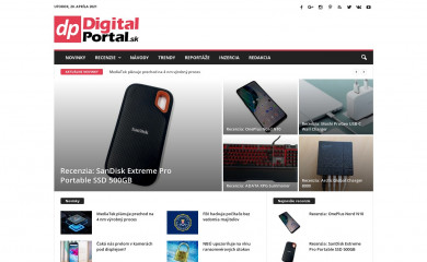 digitalportal.sk screenshot